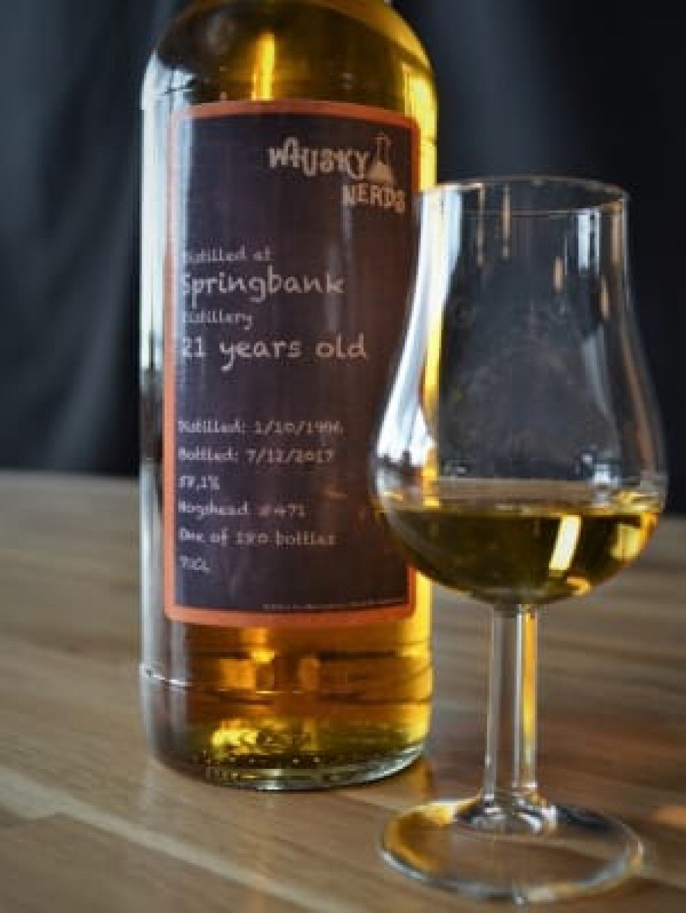 For real Nerds only - Springbank 21