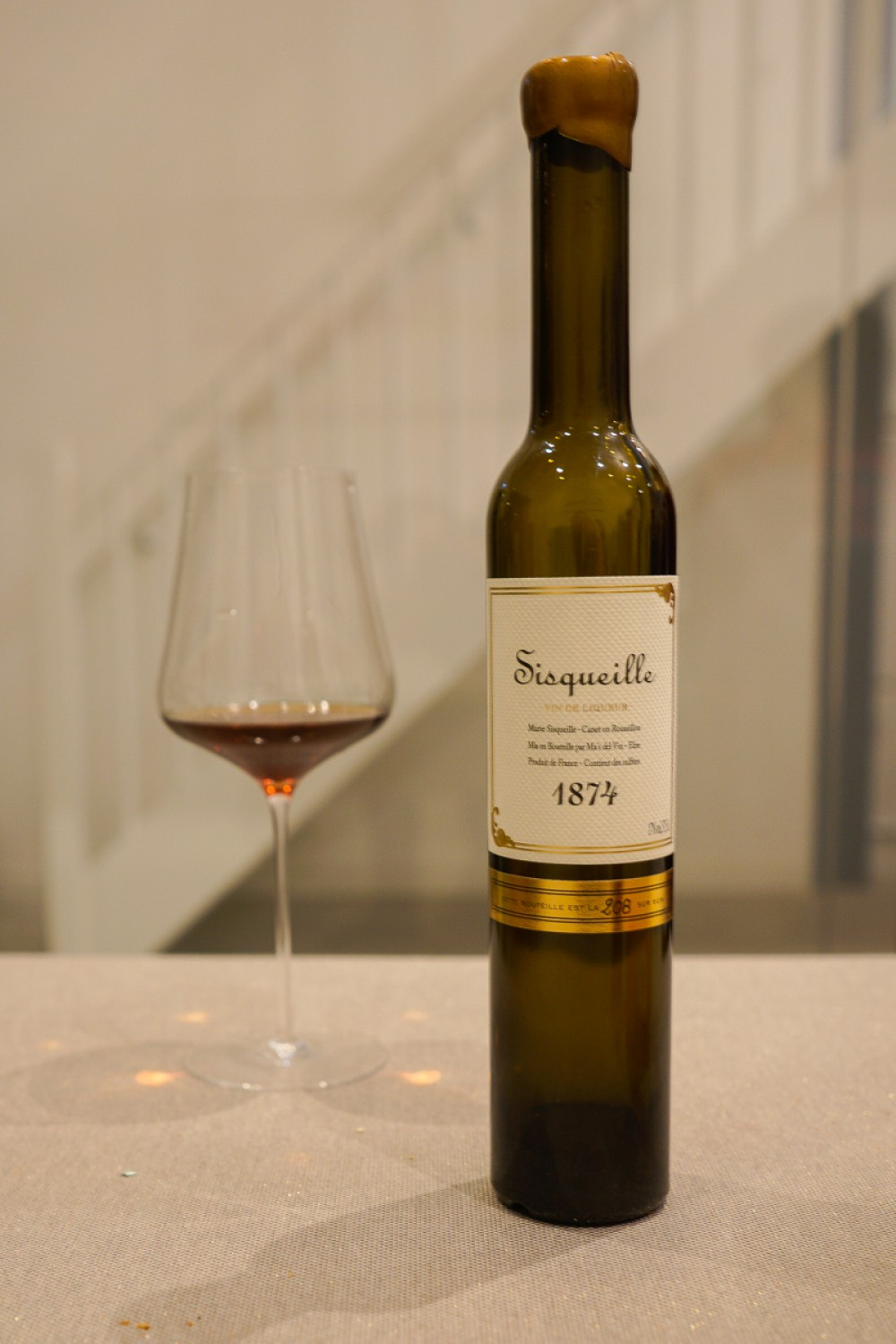 Pre Phylloxera Wine - Chateau Sisqueille 1874