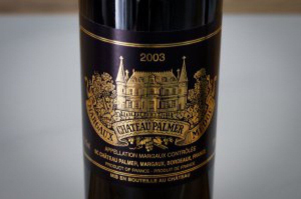 Chateau Palmer 2003, an elegant surprise