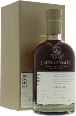 Glenglassaugh - 41 Years Old Rare Cask Release Batch 2 Cask 761 41.1% 1973