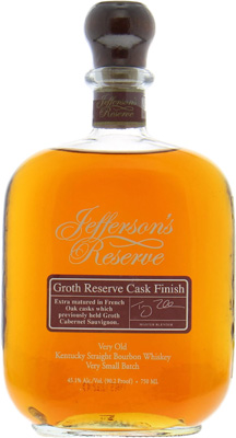 Reserve Groth Very Small Batch nr.1 45.1%Jefferson's -