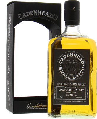 28 Years Cadenhead Old Small Batch 58.4%