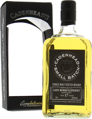 Glen Moray - 17 Years Old Cadenhead Small Batch 55.8% 1998
