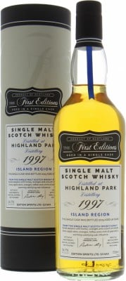 Highland Park - 18 Years Old First Editions cask HL12099 56.7% 1997