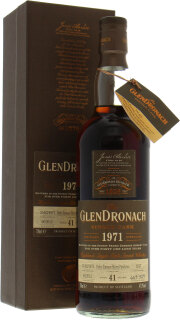 41 Years Old Batch 6 Cask 1247 47.9%