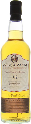 Linkwood - 26 Years Old Valinch & Mallet Lost Drams Collection Cask 1828 53.1% 1989