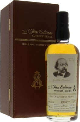 Littlemill - 26 Years Old The First Editions Authors' Series No.5 Cask HL11490 56% 1988