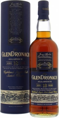 Glendronach - 18 Years Old Allardice 46% NV