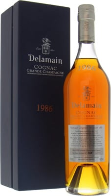 Delamain - Grande Champagne bottled 2016 1986