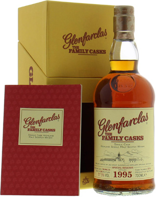 Glenfarclas - 15 years Old The Family Casks for Usquebaugh Society Cask 3771 57.5% 1995
