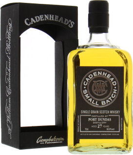 27 Years Old Cadenhead Small Batch 50.9%