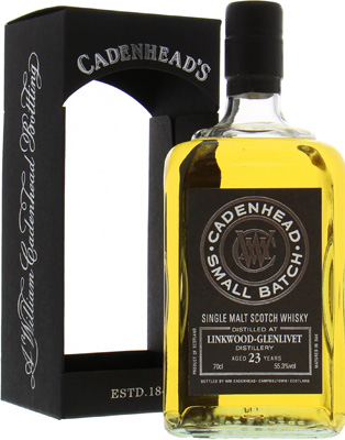 Linkwood - 23 Years Old Cadenhead Single Cask 55.3% 1992