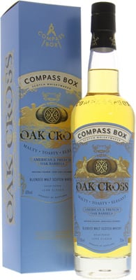 Compass Box - Oak Cross The Signature Range 10 Years Old 43% NV