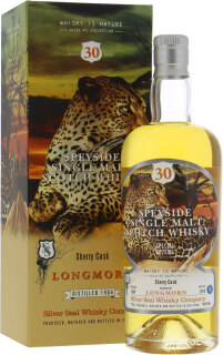 30 Years Old Silver Seal Wildlife Collection Cask:3212 56.3%