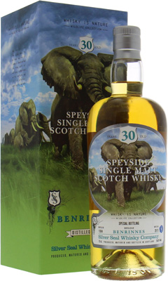 Benrinnes - 30 Years Old Silver Seal Wildlife Collection Cask 2268 56.6% 1984