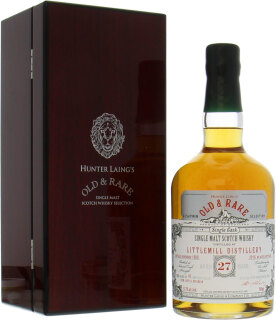 27 Years Old Hunter Laing Platinum Selection cask:HL15212 57.3%