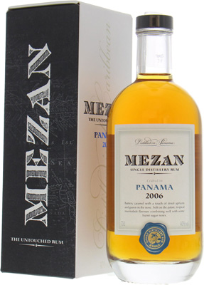 Mezan - Panama 2006 Single Distillery Rum 40% 2006