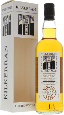 Kilkerran - 10 Years Old 2004 Madeira Cask 2 46% 2004