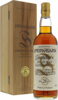 Springbank - 25 Years Old Millennium 46% NV