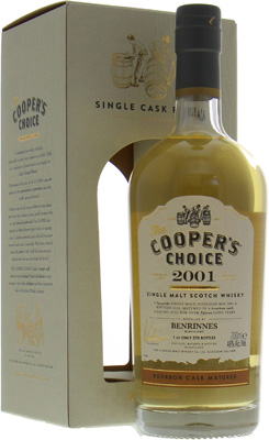 Benrinnes - 15 Years Old Cooper's Choice Cask:4710 46% 2001
