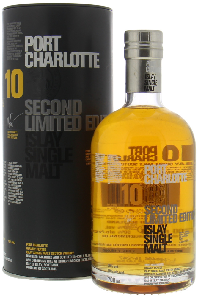 Port Charlotte - Second Limited Edition 2016 50%  NAS