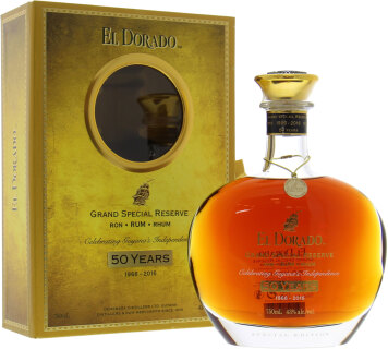 50 years old Grand Special reserve 43 %