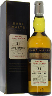 21 Years Old Rare Malts Selection 60.9%