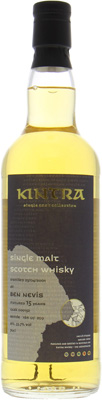 15 Years Old Kintra Whisky 53.7%Ben Nevis -