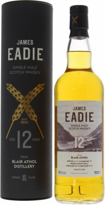 Blair Athol - 12 Years Old James Eadie Cask 97 46% 2004