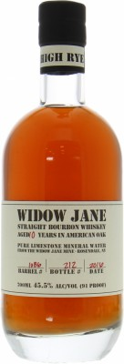 10 Years Old Cask:1086 Bottled for 60th Anniversary of La Maison du Whisky 45.5%Widow Jane Distillery -