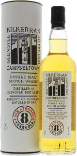Kilkerran 8 Years Old Cask strength 56.2%
