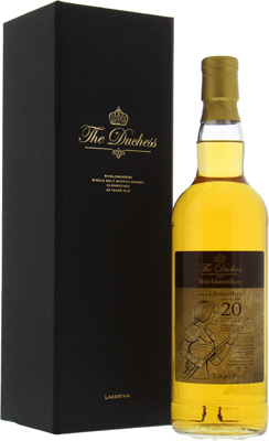 Glenrothes - 20 Years Old The Duchess Shieldmaiden Lagertha Cask10/1996 52.8% 1996