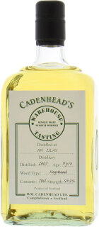 9 Years Old Cadenhead's Warehouse Tasting 59.5%9 Years Old Cadenhead's Warehouse Tasting 59.5%