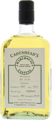 9 Years Old Cadenhead's Warehouse Tasting 59.5%