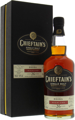 Brora - 26 Years Old Chieftains's Cask:1521 48% 1981