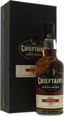 Brora - 23 Years Old Chieftains's Cask:1514 46% 1981