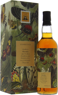 Glenrothes - 20 Years Old Antique Lions of Spirits The Butterflies 57% 1997