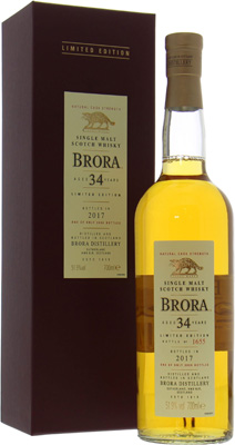 16th Release 34 Years Old Limited Edition 2017 51.9%Brora -