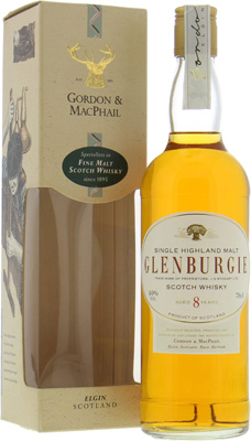 8 Years Old Gordon & MacPhail 40%Glenburgie -