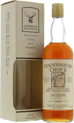1966 Connoisseurs Choice Map Label 40%Lochside -