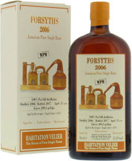 Forsyths 11 Years Old Habitation Velier 57,5%