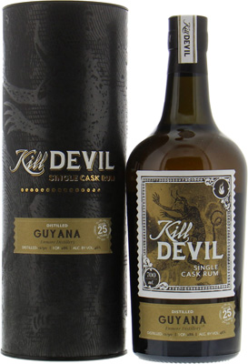 25 years Old Guyana Kill Devil 46%Enmore -