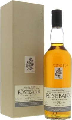 25 Years Old Special Release 61.4%Rosebank -