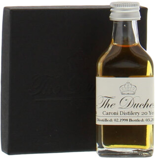 SAMPLE: 20 Years Old Trinidad The Duchess Cask:19 64,6%