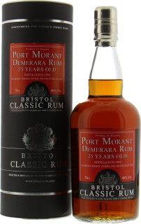 Port Morant Demerara Rum 25 Years Old 46%