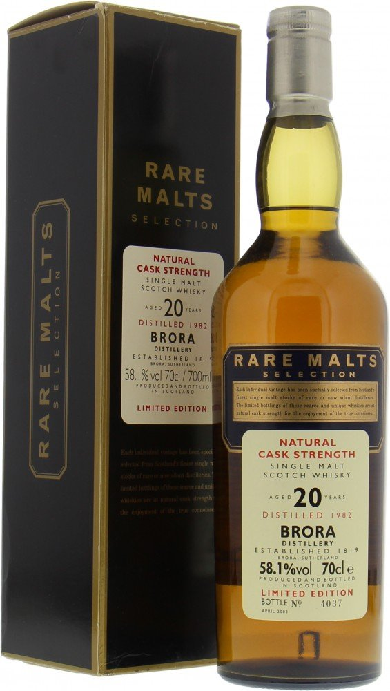 Brora - 20 Years Old 1982 Rare Malts Selection 58.1%