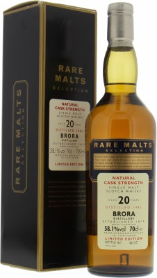 20 Years Old 1982 Rare Malts Selection 58.1%