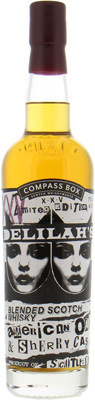 Delilah's XXV 46%Compass Box -
