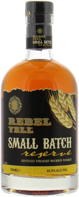Small Batch Reserve 45.3%Rebel Yell Distillery  -