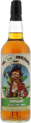 Foursquare - 12 Years Old The Rum Mercenary 59.8% 2005